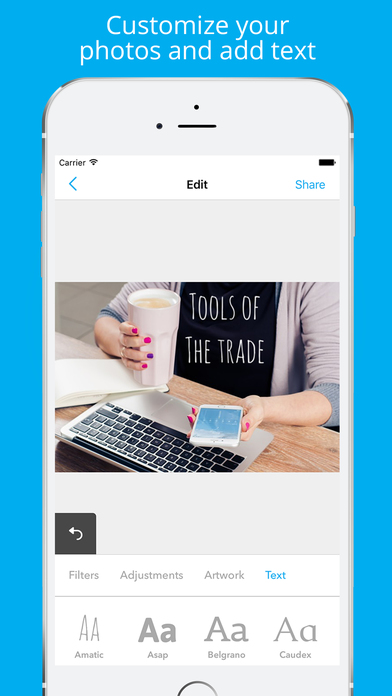 Enhance - Stock Photo Editor screenshot 3